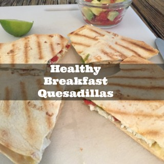 Simple Egg White Breakfast Quesadillas