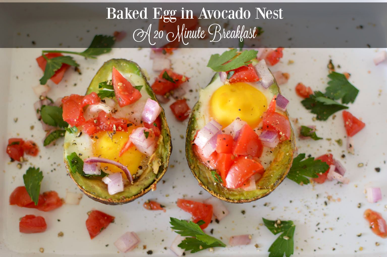 Baked Egg in Avocado Nest