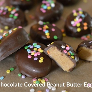 Chocolate Covered Peanut Butter Egg Truffles