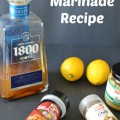 Tequila Marinade Recipe