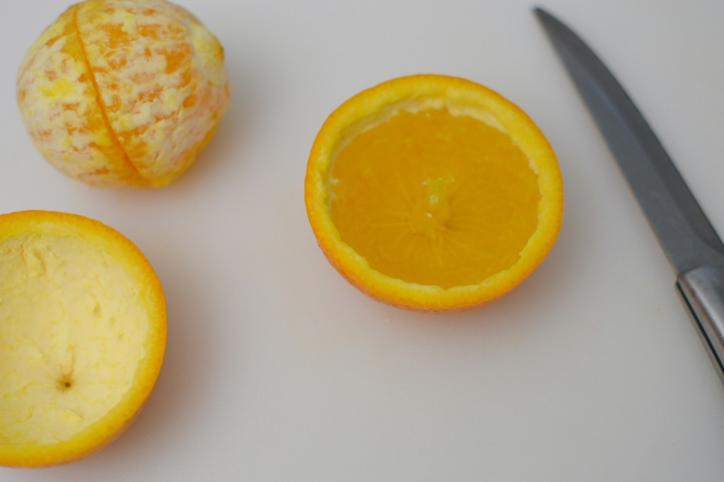 How to Turn an Orange Into a Candle