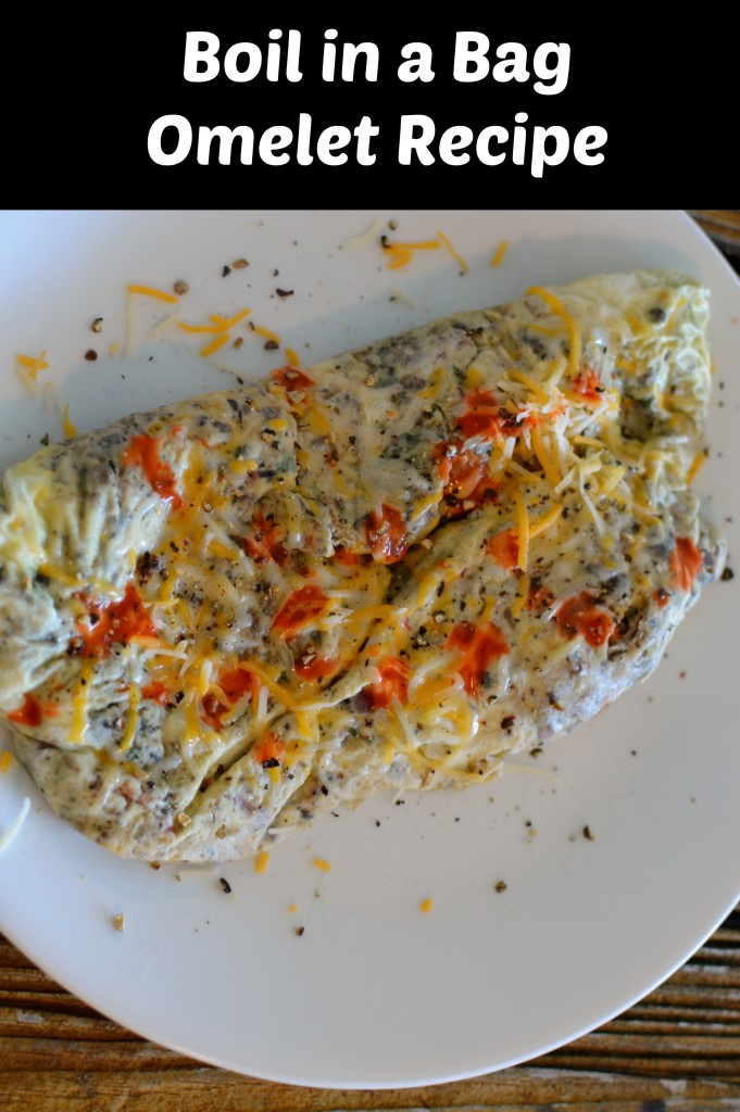 Boil in a Bag Omelet Recipe