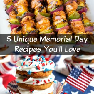 5 Unique Memorial Day Grilling Recipes