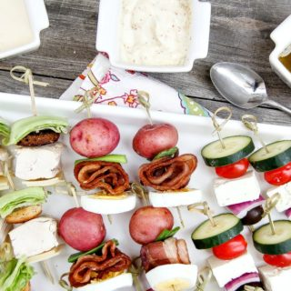 Salad Skewers for Summer Entertaining