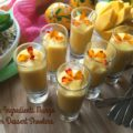 Three Ingredients Mango Cream Dessert Shooters