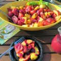 Grilled Fruit Salad scene