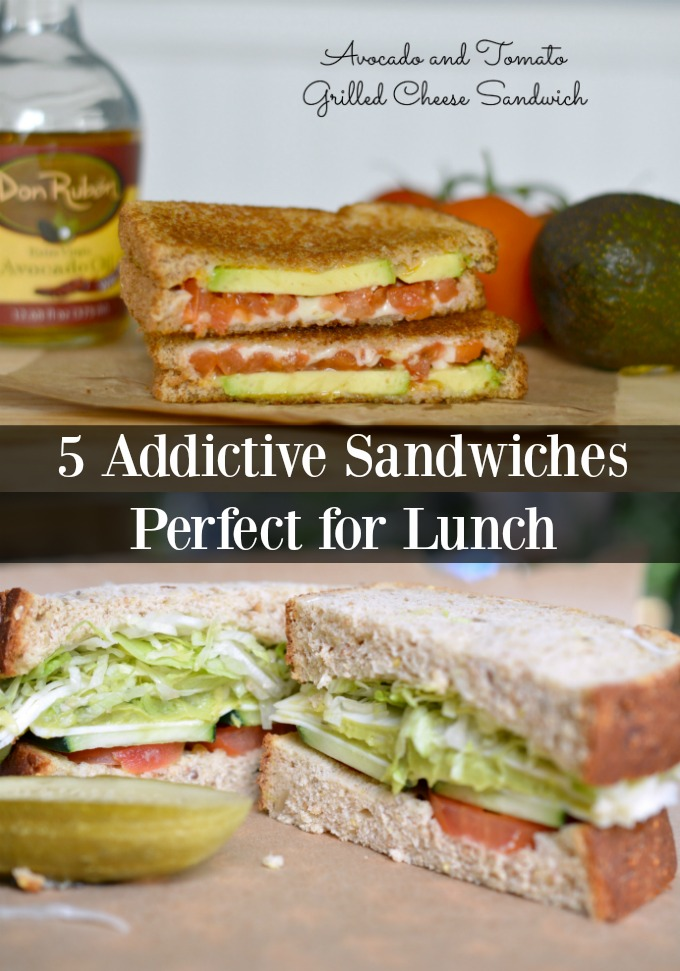 5 addictive sandwiches
