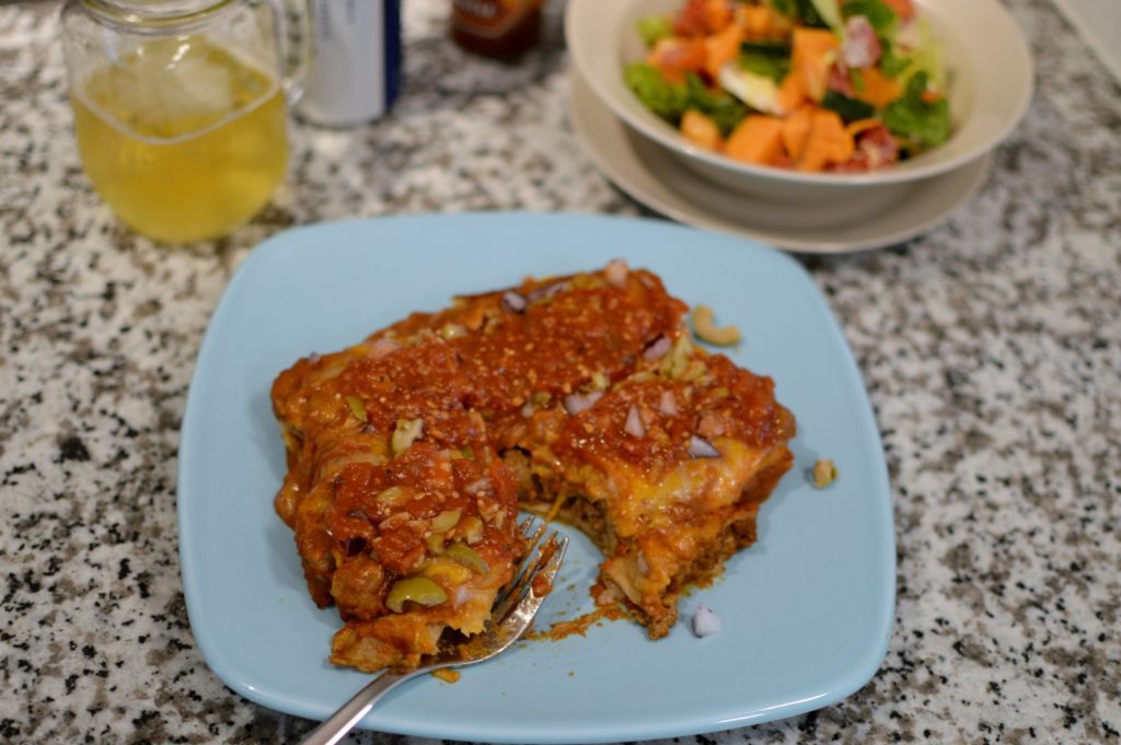 Lean Ground Beef Enchiladas