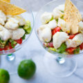 Summertime Smoked Ceviche Salad