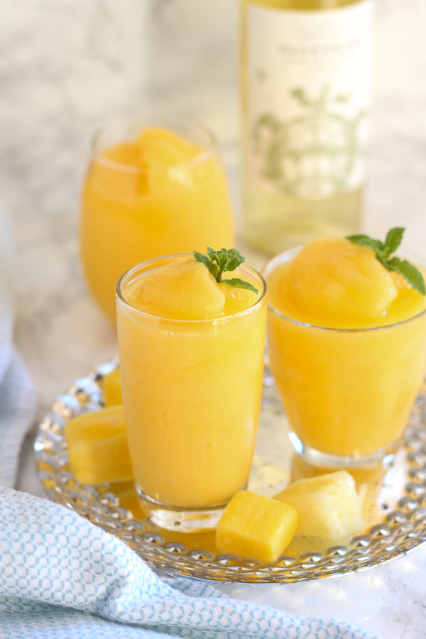 Tropical Wine Slushies