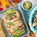 Lighten up taco night with these 5 tasty healthier tacos! Ditch the greasy taco meat and traditional add ins. Whether you're looking for a plant-based taco, seafood tacos, or even a fruity taco, we've got exactly what you need!