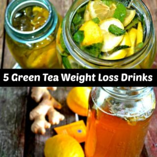 5 Green Tea Weight Loss Drinks