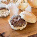 make the perfect french onion burger