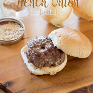 Make the Perect French Onion Burger