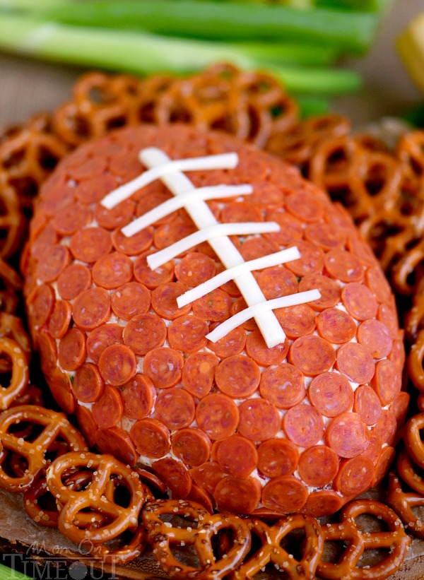 Football Shaped Appetizers That Are Perfect For This Football Season