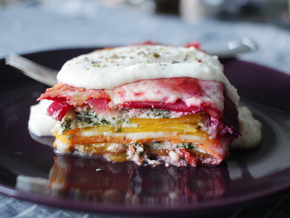 Gluten-Free Root Vegetable Lasagna Recipe