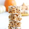 pumpkin white chocolate bars