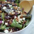harvest salad with poppyseed vinaigrette