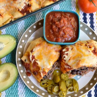 Heart Healthy Shredded Beef Burritos