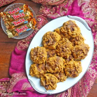 Pumpkin Scones using TWIX®