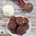 Flourless Peanut Butter Chocolate Chip & Beet Cookies