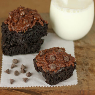 Healthier Zucchini Brownies Recipe