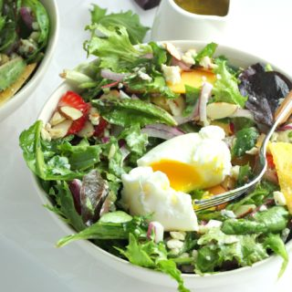 Arugula Salad with Poached Egg