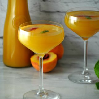 Apple Cider Belini Cocktail Recipe