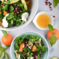 You will love this gluten-free, vegetarian Roasted Beet Pomegranate Salad with Tangy Orange Vinaigrette. This bowl of goodness definitely fits the bill as your new favorite lunch or dinner.