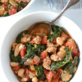 Italian Turkey Sausage Kale and White Bean Stew