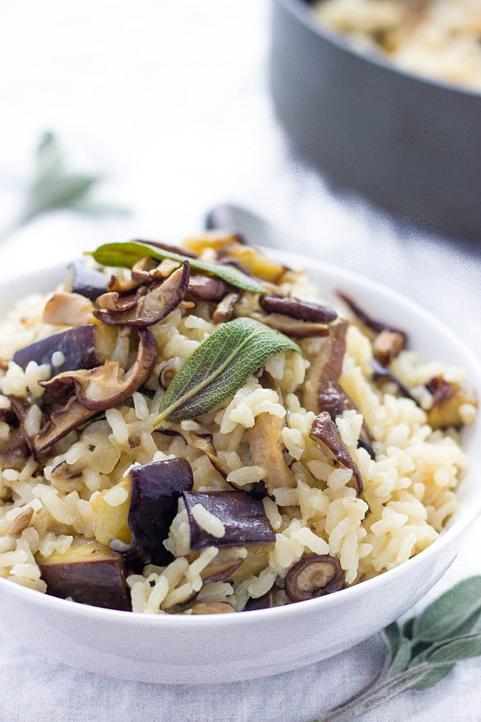 Vegetable Anchovy Risotto