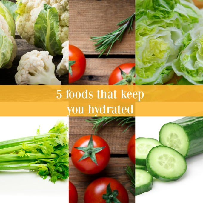 5 foods that keep you hydrated