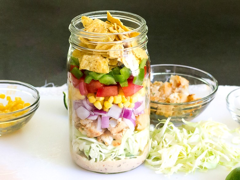 Fish Taco Mason Jar Salad-14