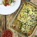 Relax at the end of the busy week and start your weekend with a savory spin by making this Kale Egg Breakfast Bake recipe packed full of wonderfully caramelized onions and fresh ginger.