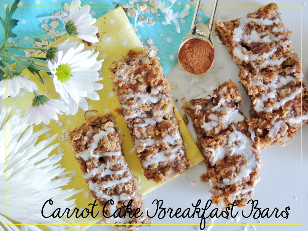 Start your day with these Healthy Carrot Cake Breakfast Bars made with hints of cinnamon and nutmeg that taste more like a decadent dessert than a healthy breakfast on the go.