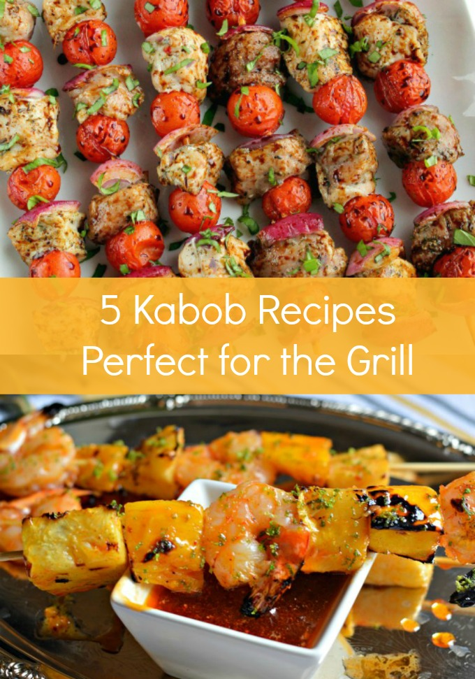 Welcome the beautiful, warmer weather with dinner outside when you make any one of these five Grilled Kabob recipes perfect for spring. These easy-to-make recipes are a delightful way to enjoy a meal with family and friends.