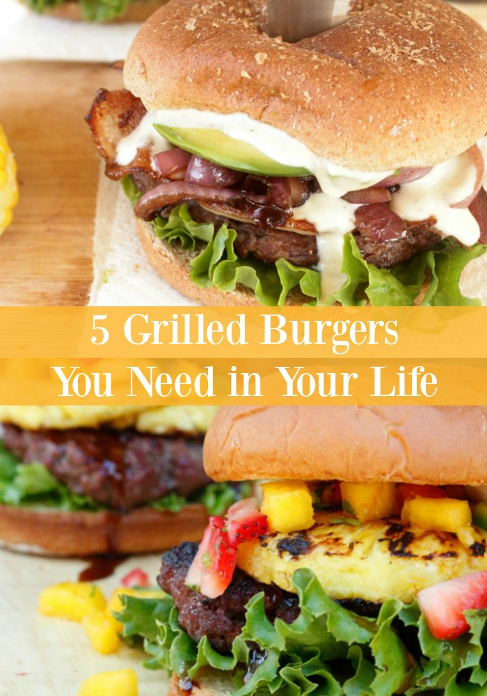 Fire up the grill and get ready to drool because these five Grilled Burgers are all-star recipes that are sure to be a hit at your next outdoor gathering!