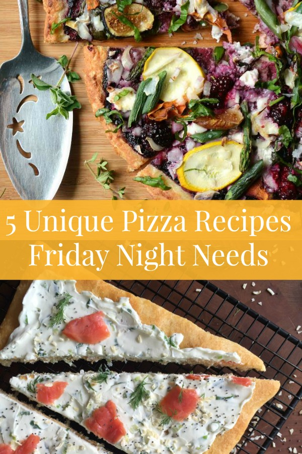 This week, skip the expensive pizza delivery, and fix these 5 Unique Pizza Recipes that will change how you see everyone's favorite Friday night meal.