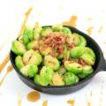 These Grilled Maple Bacon Brussels Sprouts are going to change the way you think about those tiny green cabbages. Sweet and salty with a little flavor from the grill makes these brussels sprouts a delicious appetizer.