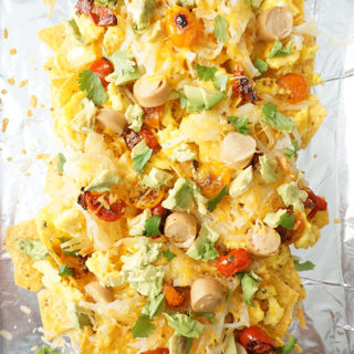 Loaded Breakfast Nachos