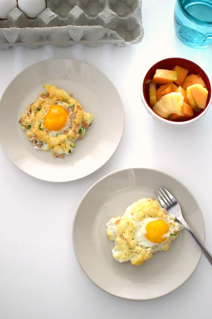 Get in on the latest trend when you make these Cloud Eggs for breakfast. This low-carb breakfast packs a protein punch that will get your day started off right!