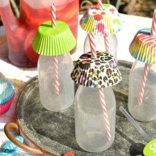 Cupcake Liner Drink Covers Hack