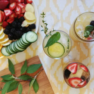 Enjoy the fresh flavors of summertime when you sip on these non-alcoholic refreshers. Making Kombucha Sangria 3 Ways for outdoor parties is the perfect way to satisfy the whole crowd.