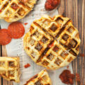 Transform dinner with one of these drool worthy Savory Waffle Recipes; leftovers, sandwiches, and your favorite sides get a makeover in the waffle iron.
