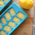 You must make these Detoxifying Immune Boosting Lemon Ice Cubes that pack a big nutritional punch. They are so simple to toss into smoothies, a glass of water, or even into soups. Lemons are powerful nutrients which give a boost to the immune system helping to ward off infections and disease.