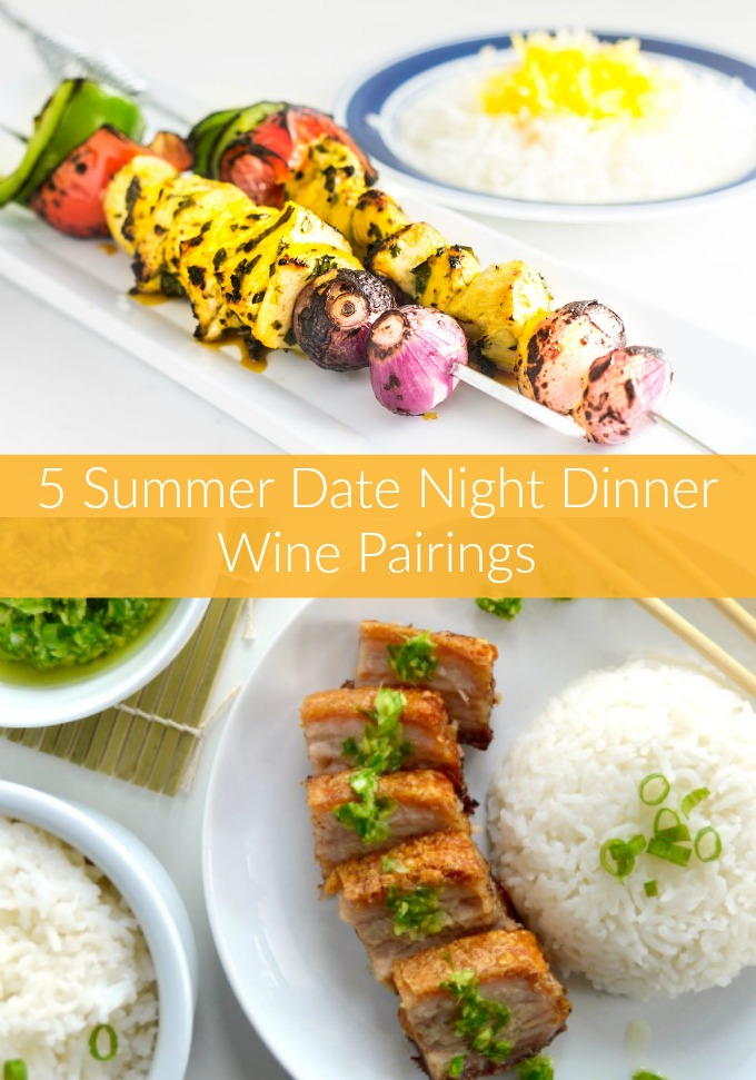 Impress that special someone in your life when you serve these Date Night Dinner Wine Pairings for a romantic night in. This dining experience will leave you both breathless!