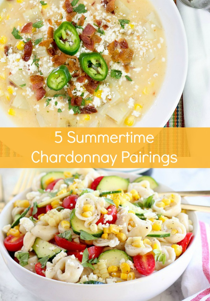 Wind down after a busy day with a glass of your favorite white wine; the perfect compliment to these five Summertime Chardonnay Pairings. You will want to make these light, fresh recipes over and over again.