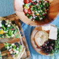 The next time you get your grill out for a tailgate party, skip the usual burgers and dogs in favor of these Grilled Pizza recipes. They are the perfect vessel for all your favorite seasonal toppings!