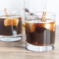 Enjoy a late afternoon Spiced Cold Brew Cocktail; add spice infused vodka and frozen almond milk cubes to your favorite cold brew for a relaxing pick me up.