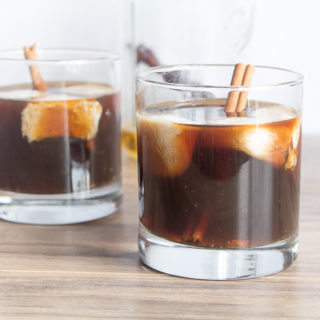 Spiced Cold Brew Cocktail